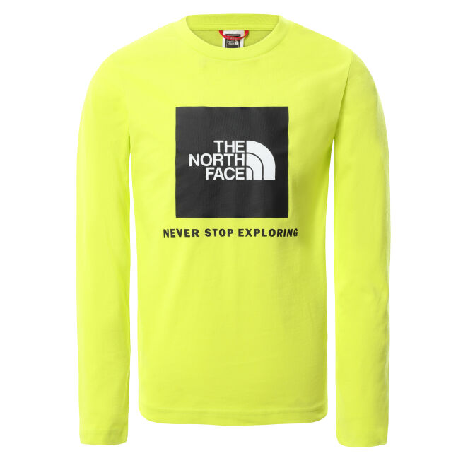 The North Face Box Logo L/S Tee Youth