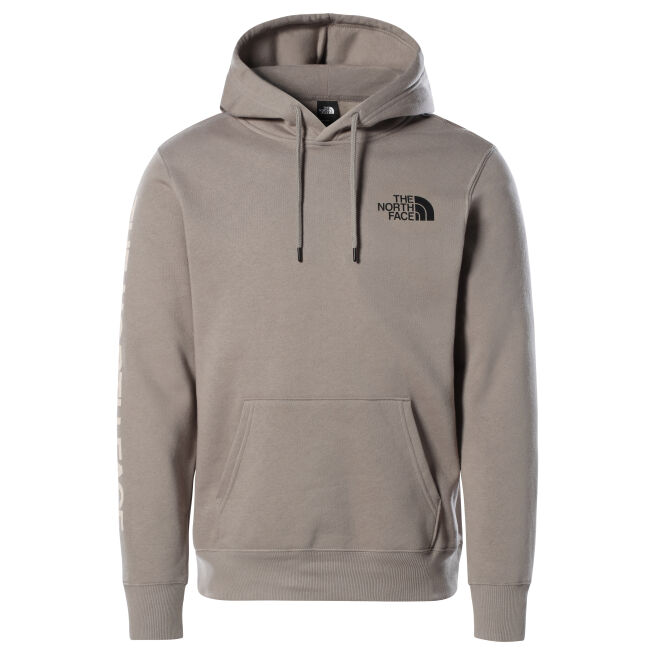 The North Face Warped Type Graphic Hoodie