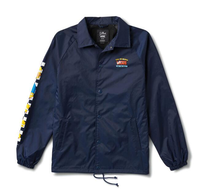 Vans Torrey Coach Jacket Simpsons